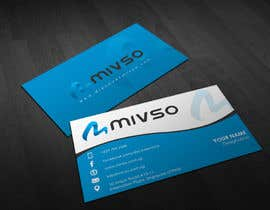 #22 for Design some Business Cards for Mivso by pointlesspixels