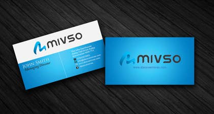 #28 for Design some Business Cards for Mivso by kevinsheno