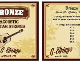 Franstyas tarafından Create Print and Packaging Designs for Acoustic Guitar Strings için no 31