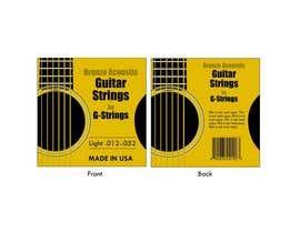 pamarasinghe tarafından Create Print and Packaging Designs for Acoustic Guitar Strings için no 11