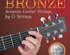 midget tarafından Create Print and Packaging Designs for Acoustic Guitar Strings için no 6