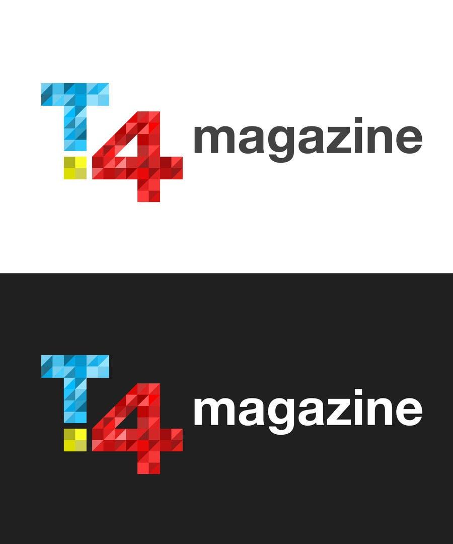 Penyertaan Peraduan #                                        145                                      untuk                                         Design a Logo for a tech news website