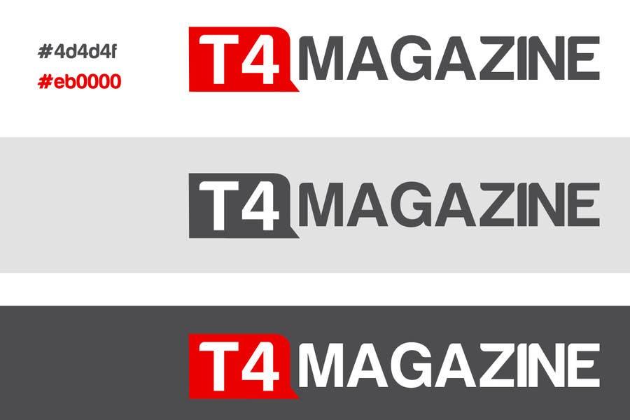 Penyertaan Peraduan #                                        213                                      untuk                                         Design a Logo for a tech news website