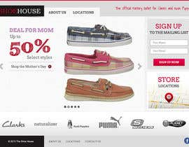 #45 para Website Design for The Shoehouse por tuanrobo
