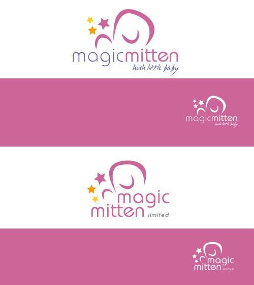 Конкурсная заявка №139 для Logo Design for Magic Mitten, baby calming aid