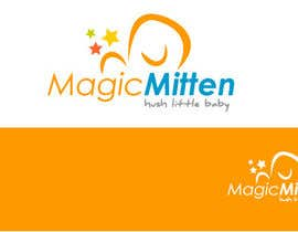 #104 para Logo Design for Magic Mitten, baby calming aid por oscarhawkins