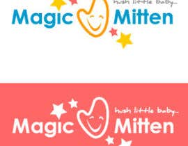 nº 90 pour Logo Design for Magic Mitten, baby calming aid par oscarhawkins