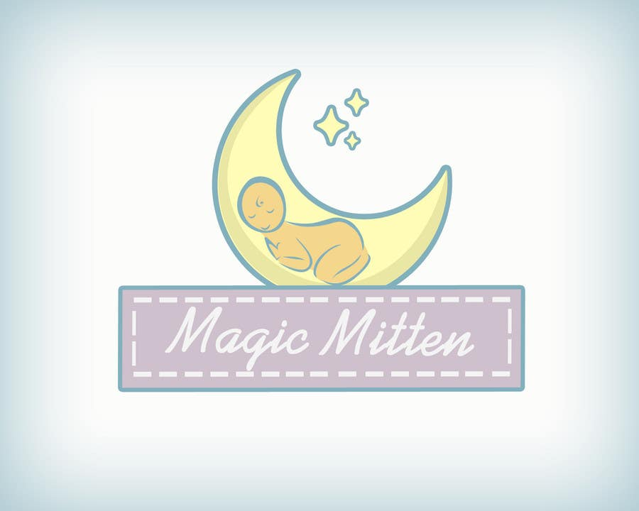 Contest Entry #                                        68                                      for                                         Logo Design for Magic Mitten, baby calming aid