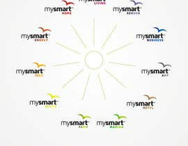 nº 123 pour Logo Designs for mySmart par flov