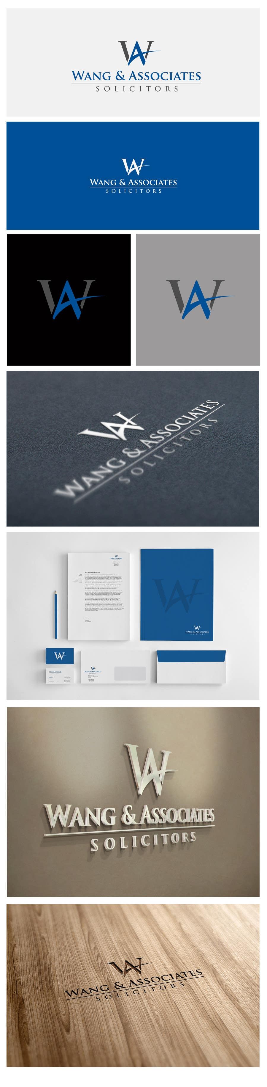 Contest Entry #33 for Logo Design for Wang & Associates Solicitors