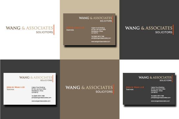 Contest Entry #85 for Logo Design for Wang & Associates Solicitors