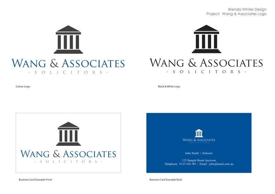 Bài tham dự cuộc thi #                                        3                                      cho                                         Logo Design for Wang & Associates Solicitors