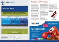 Graphic Design Entri Peraduan #22 for Design a Brochure for Tax Store & Nova BK