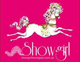 mirceawork tarafından Design a Logo and Image for Girl's Horse Riding Clothes için no 54