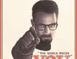 nº 8 pour Change the classic Britain Needs You poster to be Gordon Freeman par Tadeo9215