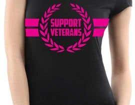Nro 45 kilpailuun Design a T-Shirt that supports USA Military and/or USA Veterans käyttäjältä lidaong