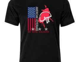 Nro 13 kilpailuun Design a T-Shirt that supports USA Military and/or USA Veterans käyttäjältä fake111