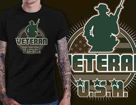 Nro 28 kilpailuun Design a T-Shirt that supports USA Military and/or USA Veterans käyttäjältä richisd