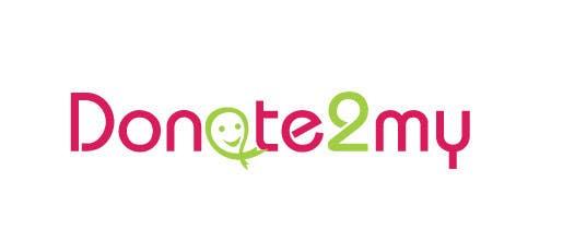 Participación en el concurso Nro.56 para Logo Design for Donate2My
