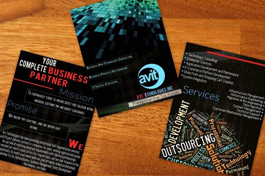 Konkurrenceindlæg #                                        30                                      for                                         Brochure Design for Avi Technologies Inc.