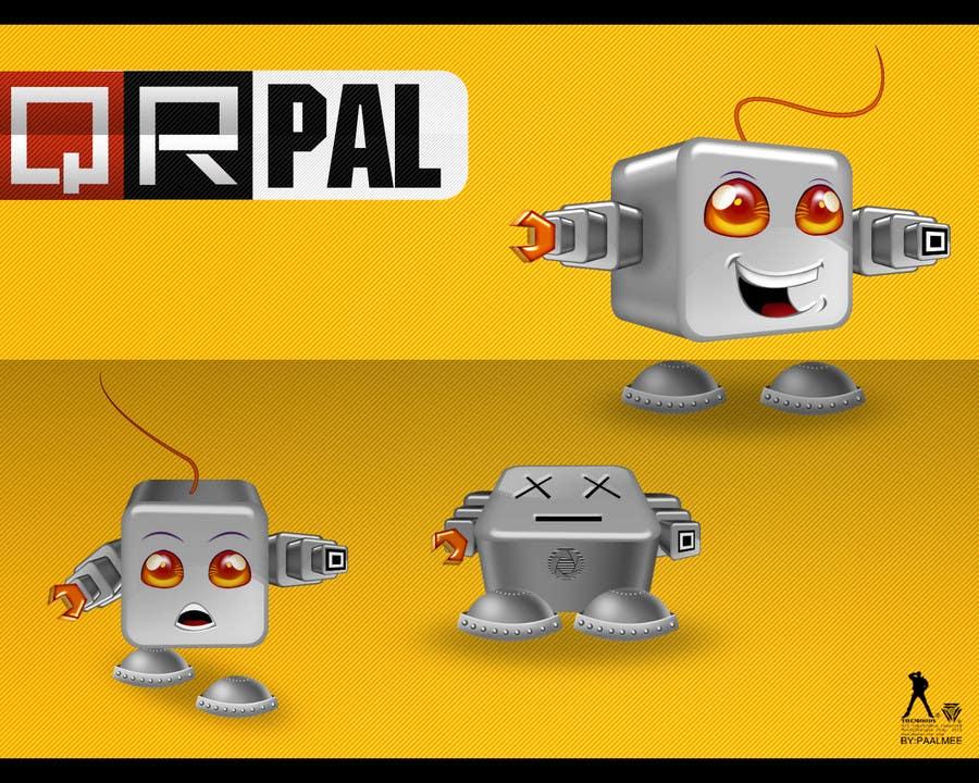 Inscrição nº                                         385                                      do Concurso para                                         Logo Design for QR Pal