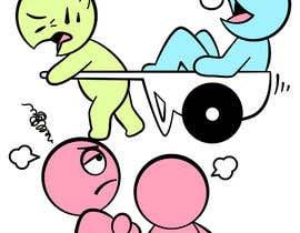 Nro 14 kilpailuun Freeloader/Parasite. Design single-panel illustration or cartoon symbolizing a Freeloader/parasite. (multiple winners possible). käyttäjältä satherghoees1