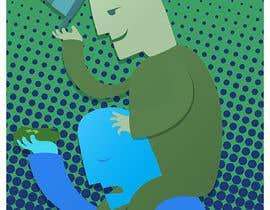 Nro 19 kilpailuun Freeloader/Parasite. Design single-panel illustration or cartoon symbolizing a Freeloader/parasite. (multiple winners possible). käyttäjältä abdolilustrador