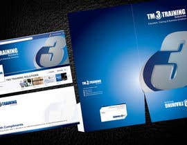 #35 para Stationery Design for TM3 Training Solutions por Brandwar