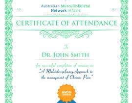 #20 para Certificate of attendance for our events por clementalwin