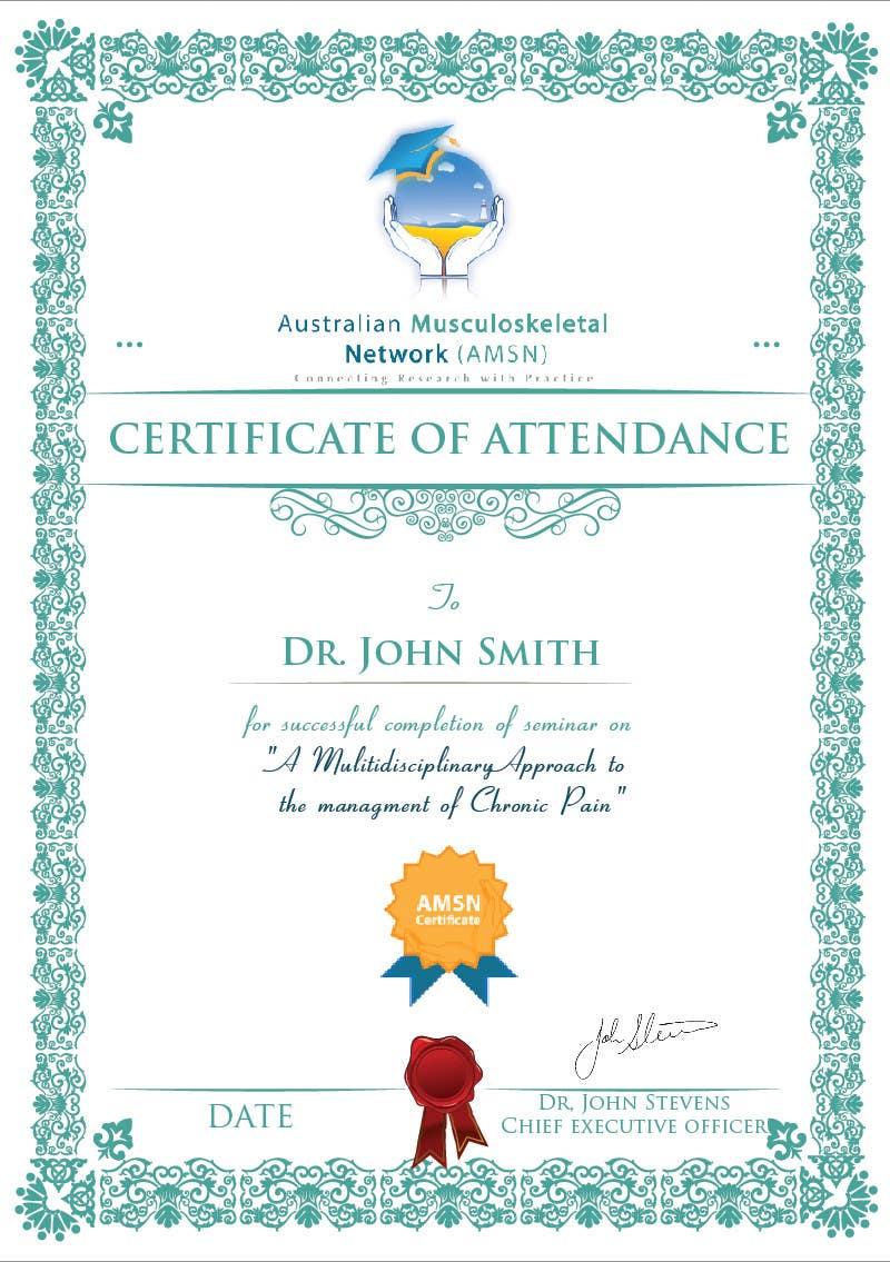 Inscrição nº                                         21                                      do Concurso para                                         Certificate of attendance for our events