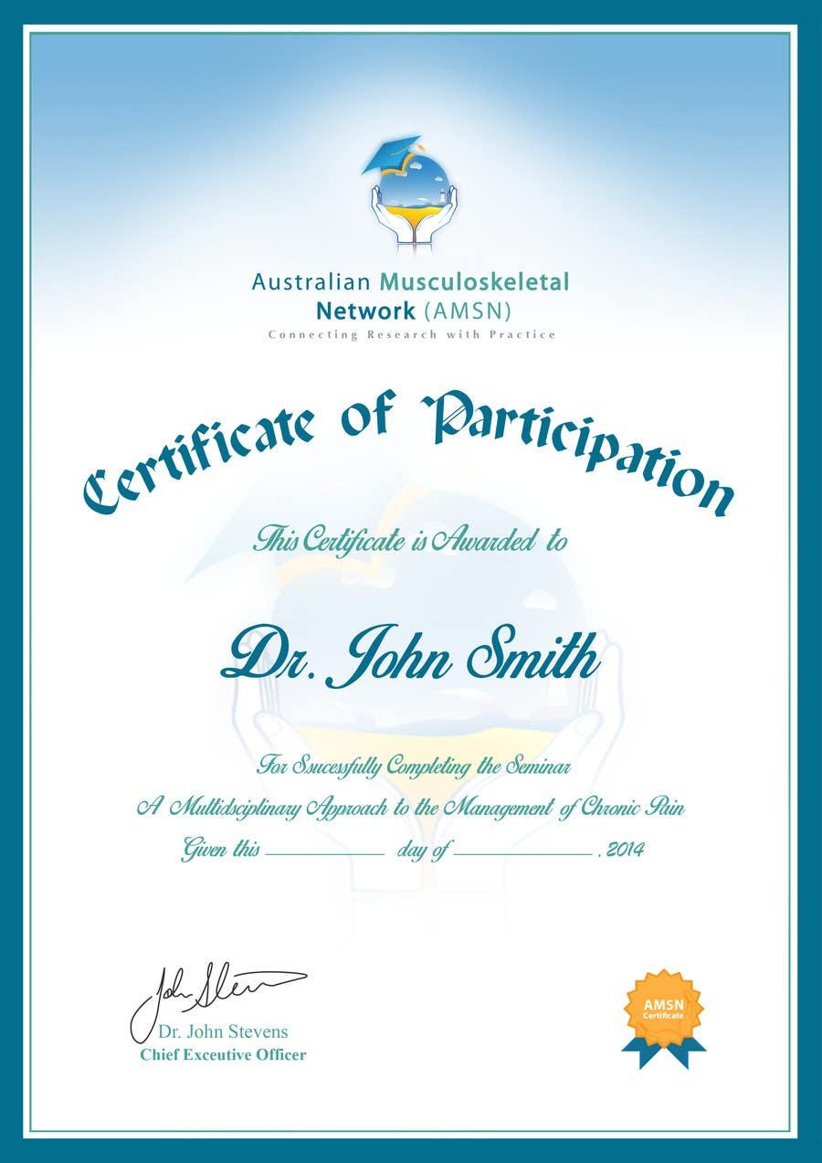 Inscrição nº                                         9                                      do Concurso para                                         Certificate of attendance for our events