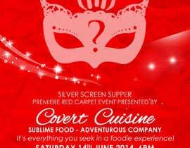 #2 para Design a Flyer for Silver Screen Supper por mthmb
