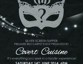 #9 para Design a Flyer for Silver Screen Supper por mthmb