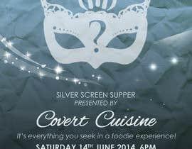 #11 para Design a Flyer for Silver Screen Supper por mthmb