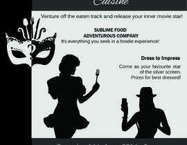 #5 para Design a Flyer for Silver Screen Supper por mitchenstein