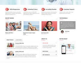 #10 for Create a Wordpress Template for Existing Design Theme af zannatI