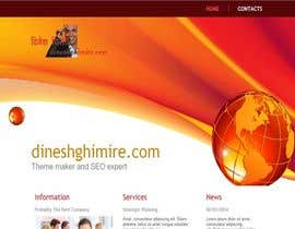 #39 for Create a Wordpress Template for Existing Design Theme af dineshajar