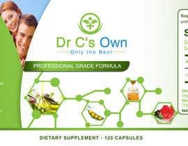 #13 for Doctor C's Own Health Supplements Label Design Contest! af stylishwork