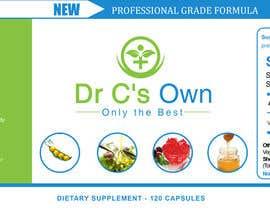 #14 for Doctor C's Own Health Supplements Label Design Contest! af stylishwork