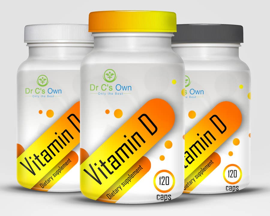 Konkurrenceindlæg #                                        11                                      for                                         Doctor C's Own Health Supplements Label Design Contest!