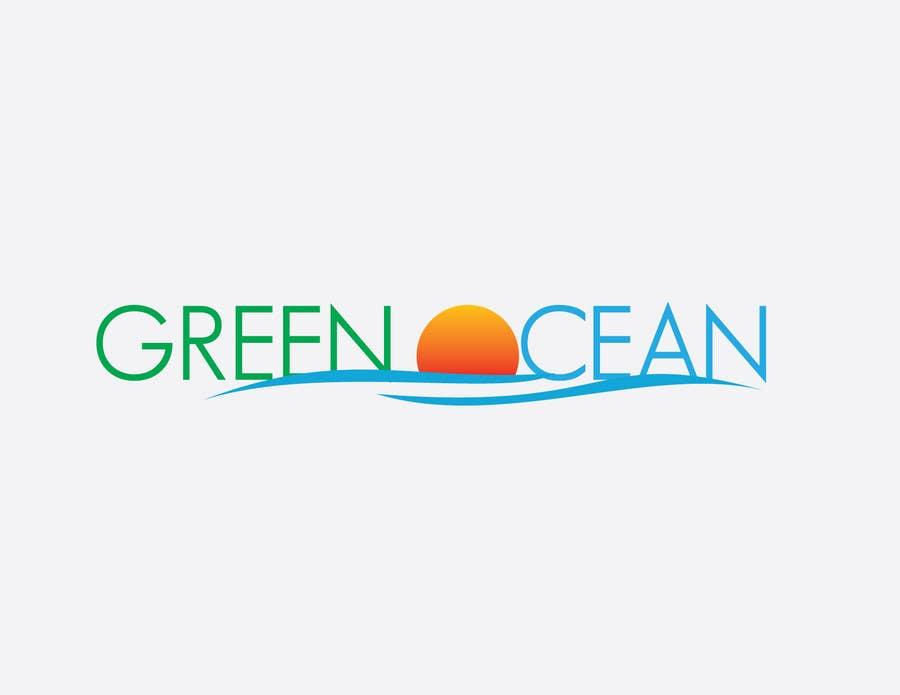 Penyertaan Peraduan #                                        707                                      untuk                                         Logo and Business Card Design for Green Ocean