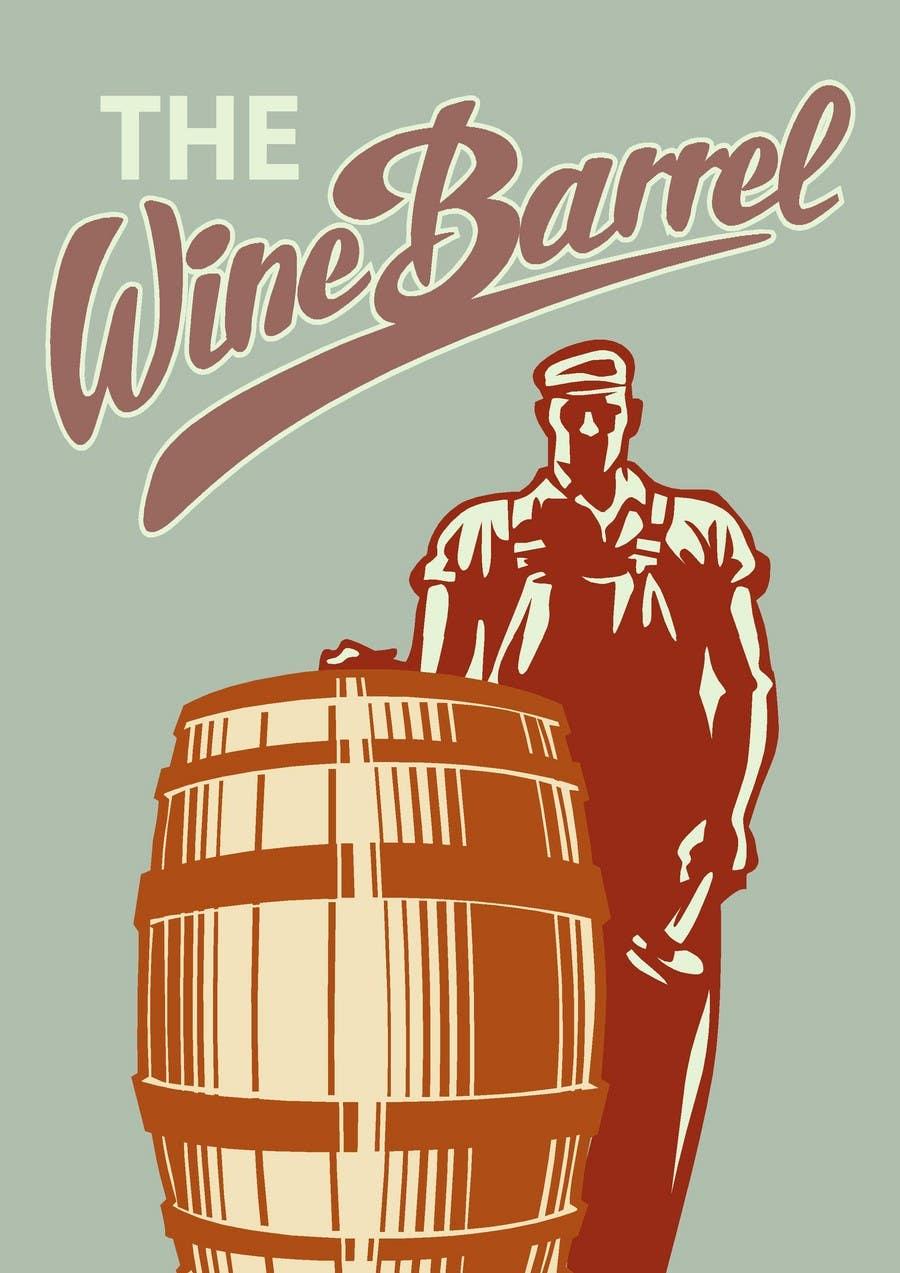 Kilpailutyö #10 kilpailussa Graphic Design for An online custom wine label company