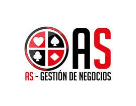 #37 untuk Diseñar un logotipo for AS - Gestión de Negocios oleh Taboha