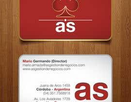 #25 untuk Diseñar un logotipo for AS - Gestión de Negocios oleh IDCreativeDsgn