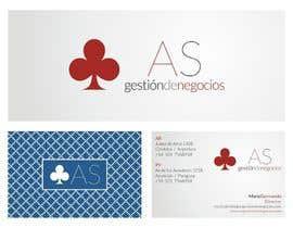 #17 untuk Diseñar un logotipo for AS - Gestión de Negocios oleh consultorgrafico