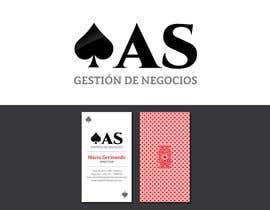 #34 untuk Diseñar un logotipo for AS - Gestión de Negocios oleh xexexdesign