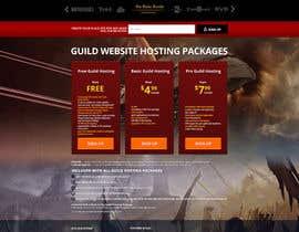 #62 for Design a Website for Game Guild Hosting Company af hipnotyka