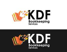 #256 untuk Logo Design for KDF Bookkeeping Services oleh logoustaad
