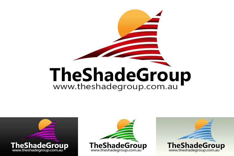 Inscrição nº                                         198                                      do Concurso para                                         Logo Design for The Shade Group and internet help site.