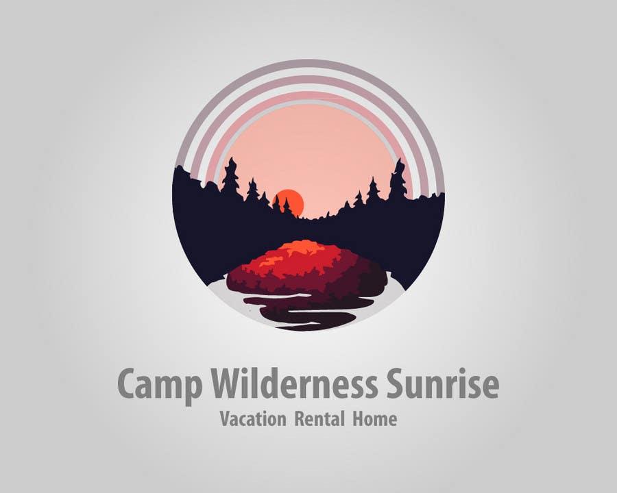Inscrição nº                                         79                                      do Concurso para                                         Logo Design for Camp Wilderness Sunrise